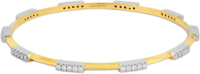 P.N.Gadgil Jewellers Arising Yellow Gold 18kt Diamond Bangle(Yellow Gold Plated) at flipkart
