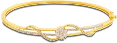P.N.Gadgil Jewellers Floral Strings Yellow Gold 18kt Diamond Bracelet(Yellow Gold Plated) at flipkart