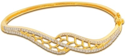P.N.Gadgil Jewellers Shining Sash Yellow Gold 18kt Diamond Bracelet(Yellow Gold Plated) at flipkart