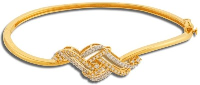 P.N.Gadgil Jewellers Chic Style Yellow Gold 18kt Diamond Bracelet(Yellow Gold Plated) at flipkart