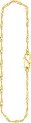 Malabar Gold and Diamonds NBJCHN024 Rope Chain Yellow Gold Precious Chain