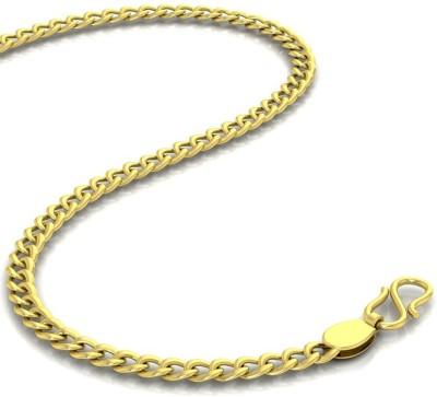 Avsar Curb Curb Chain Yellow Gold Precious Chain(18kt Not Plated Plated) at flipkart