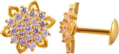 Joyalukkas Yellow Gold 22kt Stud Earring