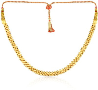 MALABAR GOLD   DIAMONDS NNKTH021 Collar Yellow Gold Precious Necklace 22kt MALABAR GOLD   DIAMONDS Necklaces