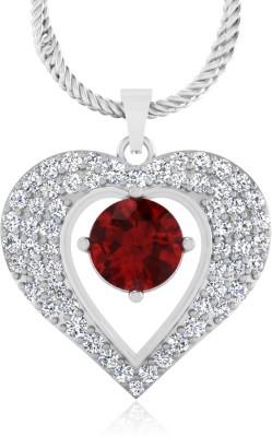 IskiUski Ruby 14kt Diamond Yellow Gold Pendant
