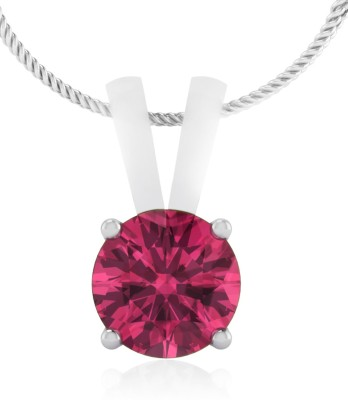 IskiUski Pink Tourmaline 14kt Diamond Yellow Gold Pendant