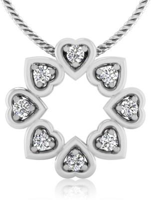 IskiUski Circle of Hearts 14kt Diamond Yellow Gold Pendant