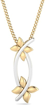 P.N.Gadgil Jewellers Floret 22kt Yellow Gold Pendant