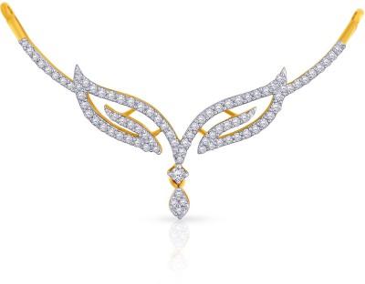 Malabar Gold and Diamonds TN651358 18kt Diamond Yellow Gold Pendant