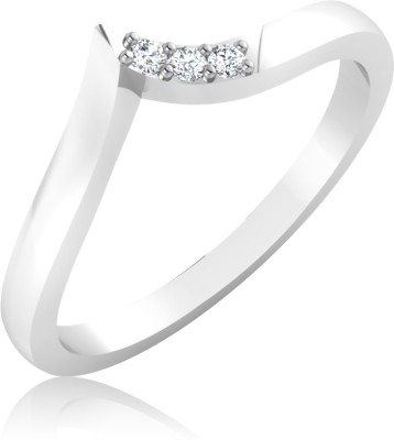 IskiUski Anniversary 14kt Diamond Platinum ring