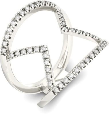 BlueStone Finley 18kt Diamond White Gold ring