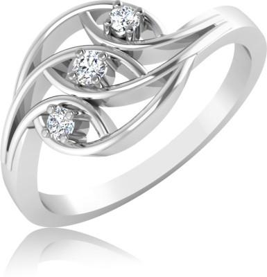 IskiUski Gauguar 14kt Diamond Platinum ring