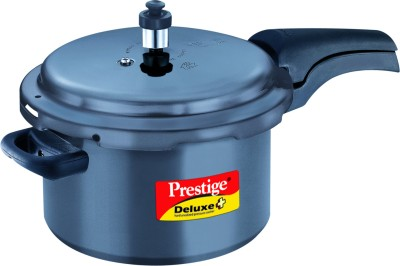 Prestige HA Deluxe Plus 5 L Pressure Cooker with Induction Bottom(Hard Anodized)