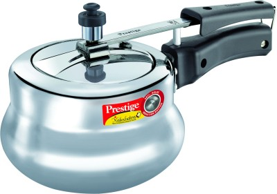 Prestige-Nakshatra-Plus-Polished-Handi-Aluminium-2-L-Pressure-Cooker-(Induction-Bottom,-Inner-Lid)