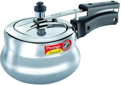Prestige-Nakshatra-Plus-Polished-Handi-Aluminium-2-L-Pressure-Cooker-(Induction-Bottom,-Inner-Lid)