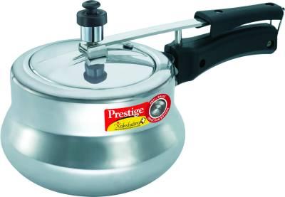 Prestige-Nakshatra-Plus-Polished-Handi-Aluminium-3-L-Pressure-Cooker-(Induction-Bottom,-Inner-Lid)