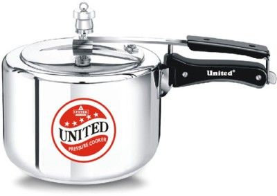 United-Aluminium-3-L-Pressure-Cooker-(Induction-Bottom,Inner-Lid)