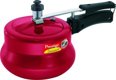 Prestige Nakshatra Plus Red Handi 3 L Pressure Cooker with Induction Bottom(Aluminium)