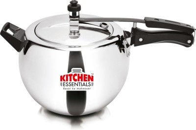 Kitchen Essentials 6.5 L Pressure Cooker with Induction Bottom(Aluminium)