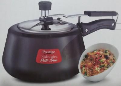 Prestige Nakshatra_Cute_Duo_HA 3 L Pressure Cooker with Induction Bottom(Hard Anodized) at flipkart