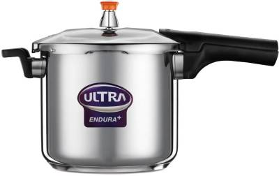 Endura-Stainless-Steel-8-L-Pressure-Cooker-(Induction-Bottom)