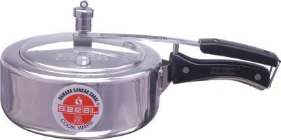Saral-FS00000155-Aluminium-3.5-L-Pressure-Cooker-(Inner-Lid)