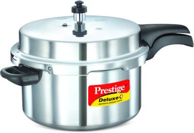 Prestige-Deluxe-Plus-Aluminium-7.5-L-Pressure-Cooker-(Induction-Bottom,-Outer-Lid)