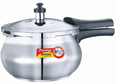 Prestige-Deluxe-Alpha-Handi-Baby-Stainless-Steel-2-L-Pressure-Cooker-(Induction-Bottom,Outer-Lid)