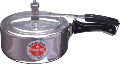 Saral-FS00000277-Aluminium-3-L-Pressure-Cooker-(Induction-Bottom,Inner-Lid)
