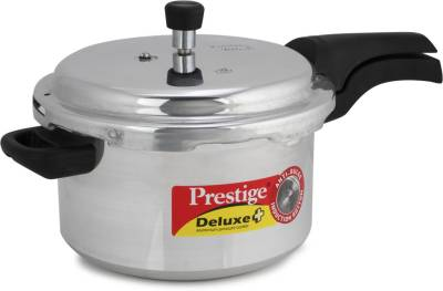 Prestige-Deluxe-Plus-Aluminium-5-L-Pressure-Cooker-(Induction-Bottom,-Outer-Lid)