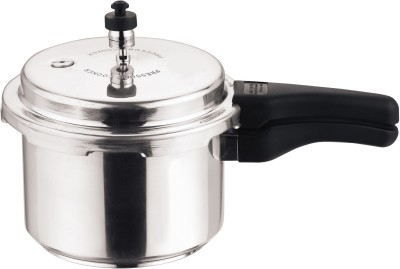 Kitchen Essentials Aluminium Outer Lid 5 L Pressure Cooker with Induction Bottom(Aluminium)