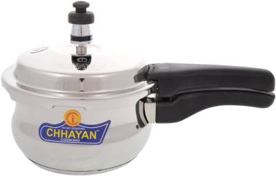 CHHAYAN 3.5 L Pressure Cooker (Induction Bottom, Stainless Steel)