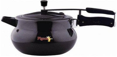 Pigeon Hard Anodized LB Cooker - Xella 3.5 L Pressure Cooker with Induction Bottom(Hard Anodized)