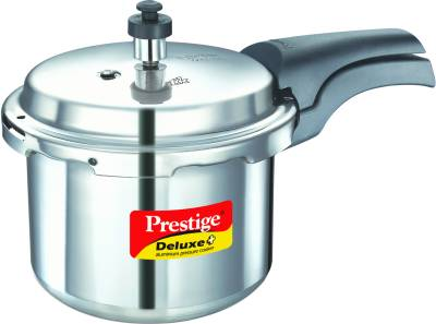 Deluxe-Plus-Aluminium-3-L-Pressure-Cooker-(Induction-Bottom,-Outer-Lid)