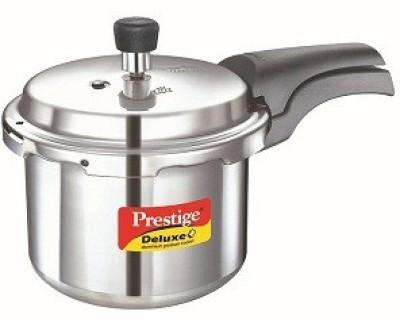 Prestige Deluxe Plus 3 L Pressure Cooker with Induction Bottom(Aluminium)