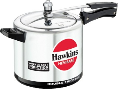 Hawkins Hevibase 5 L Pressure Cooker with Induction Bottom(Aluminium)