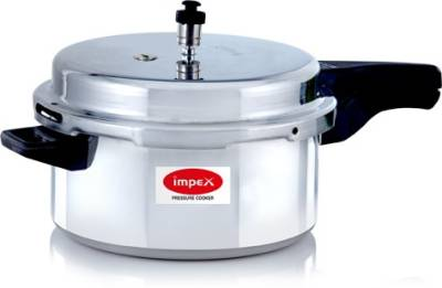 Impex-IPC-501-Aluminium-5-L-Pressure-Cooker-(Induction-Bottom,Outer-Lid)