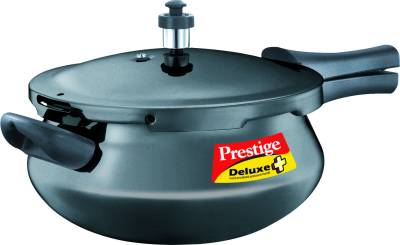 Deluxe-Plus-Hard-Annodised-Pressure-Handi-Aluminium-4.8-L-Pressure-Cooker-(Induction-Bottom,-Outer-Lid)