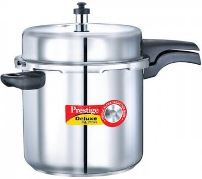 Prestige-20608-Deluxe-Alpha-Stainless-Steel-10-L-Pressure-Cooker-(Induction-Bottom,Outer-Lid)