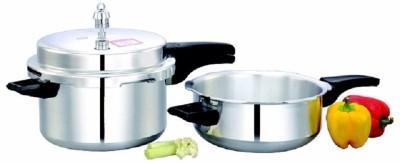 Mahavir-Prefect-Aluminium-5.0-L-Pressure-Cooker-(Outer-Lid)