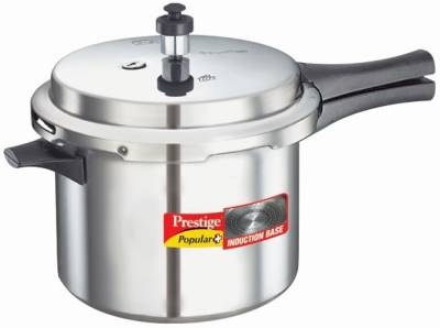Prestige-Popular-Plus-Aluminium-5-L-Pressure-Cooker-(Induction-Bottom,-Outer-Lid)