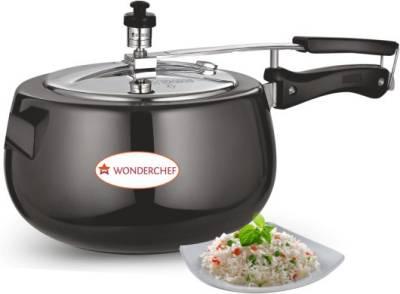 Wonderchef-63151569-Raven-Stainless-Steel-5-L-Pressure-Cooker-(Inner-Lid)