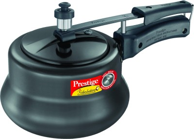 Prestige Nakshatra Plus HA Handi 3 L Induction Bottom Pressure Cooker(Hard Anodized)