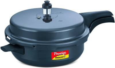 Prestige-Hard-Anodised-Deluxe-Plus-Senior-Aluminium-5-L-Pressure-Cooker-(Induction-Bottom,-Outer-Lid)