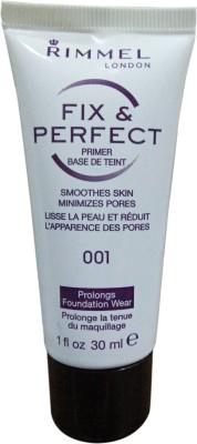Rimmel London Fix & Perfect  Primer  - 30 ml(1)  available at flipkart for Rs.725