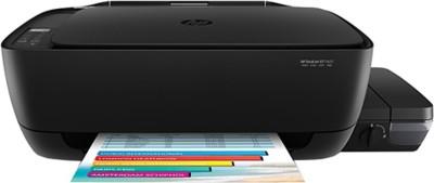 HP DeskJet Ink Tank GT 5820 Multi-function Wireless Printer(Black, Refillable Ink Tank)
