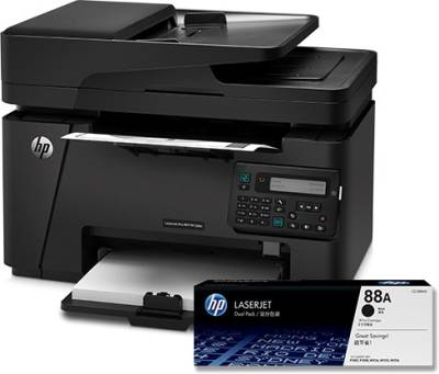 HP M128fn Multi-function Printer (Black)