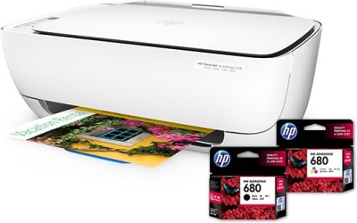 HP DeskJet Ink Advantage 4535 All-in-One Multi-function Wireless Printer(Black, Ink Cartridge)