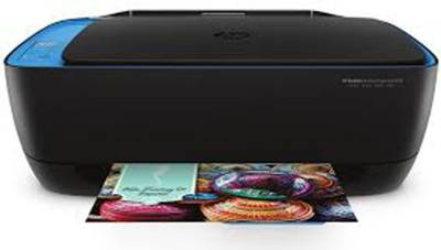 HP DeskJet Ink Advantage Ultra 4729 Multi-function Printer (Black and Blue)