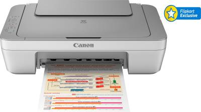 Canon PIXMA MG2470 All-in-One Inkjet Printer Print, Copy, Scan